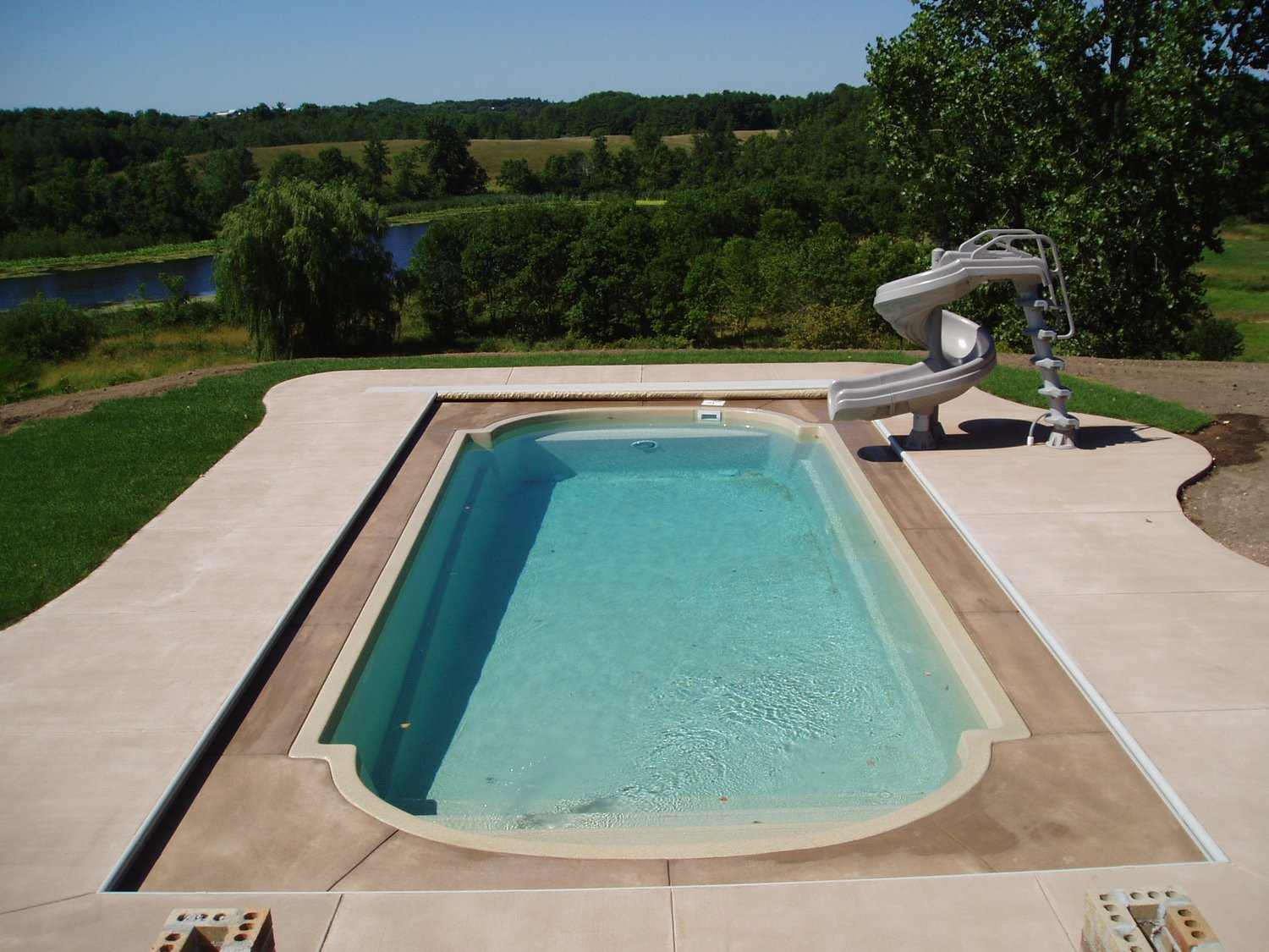 for Fiberglass above ground pool
